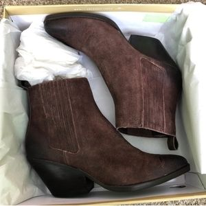 NEW MICHAEL Michael Kors Sinclair Ankle Boots